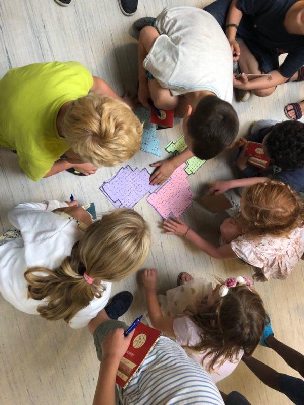 speurtocht kinderdam programmeren analoog kinderen