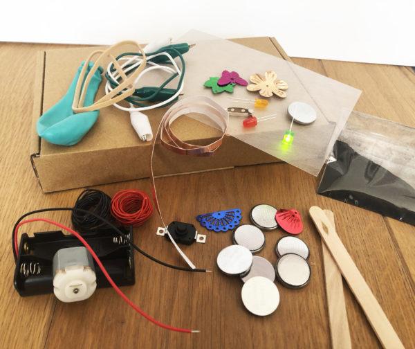 uitvinderspakket popup shop klooien proberen keukentafel