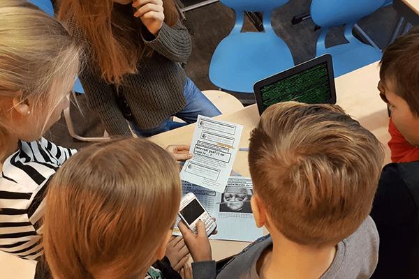 escape room privacy programmeren coderen media educatie