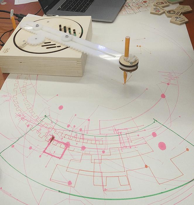 tekenrobot goto studio tast programmeren leren