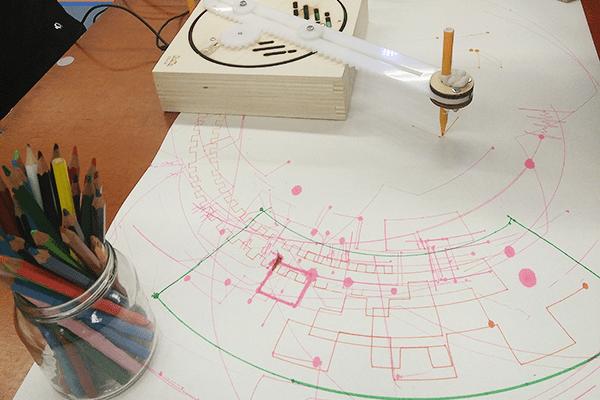 codekunst programmeren tekenrobot studio tast leren coderen