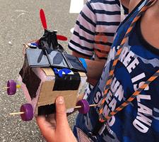 zelfrijdende auto maken maakeducatie techniek zonnepaneel technologie